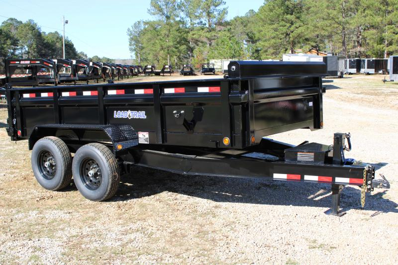 "Load Trail 83"" X 14' 14K Tandem Axle Dump Trailer"