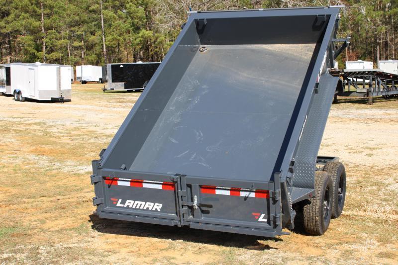 "Lamar 77"" X 12' Tandem Axle 10K Dump Trailer"