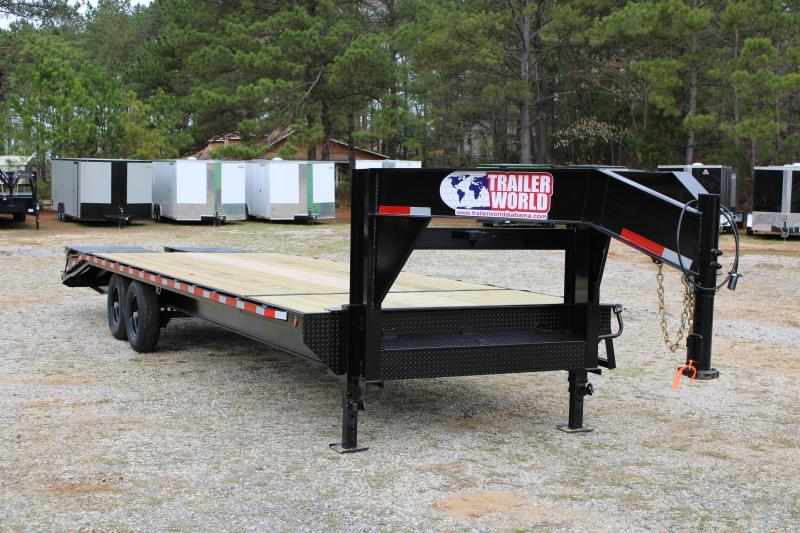 2020 Trailer World GL830 14K Flatbed Trailer