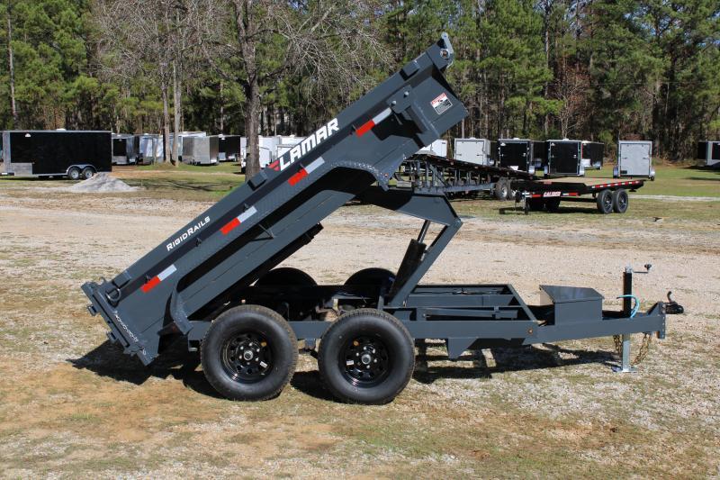 "Lamar 77"" X 10' Tandem Axle 10K Dump Trailer"