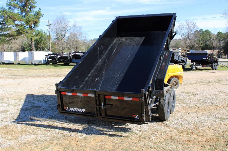 "Lamar 83"" X 14' Tandem Axle 14K Dump Trailer"