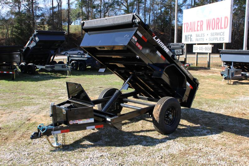 Lamar 5' X 8' Single Axle 7K Dump Trailer