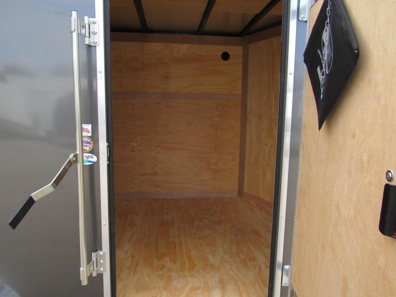 2020 Continental Cargo 7X14 Tandem Axle Enclosed Cargo Trailer