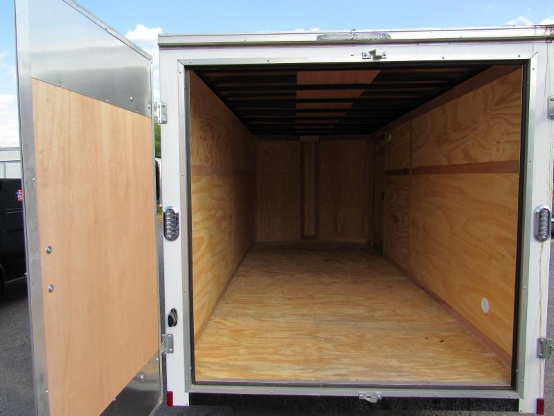 2020 Continental Cargo 7x16 With Double Rear Doors Enclosed Cargo Trailer