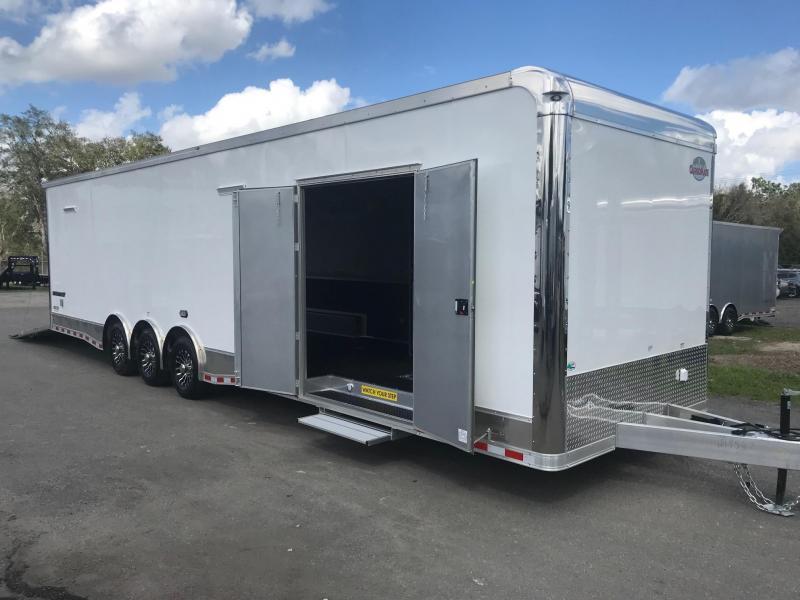 2019 34'  Aluminum Frame LOADED Eliminator Race Trailer by Cargo Mate