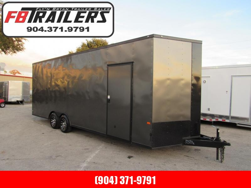 "2019 Rock Solid Cargo 8.5X24 18"" Added Height Car / Racing Trailer"