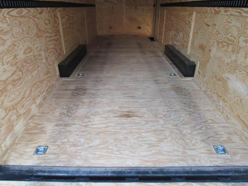 """2019 Rock Solid Cargo 8.5X24 18"""" Added Height Car / Racing Trailer"""