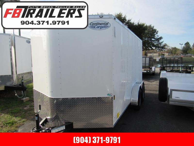 2021 Continental Cargo 7X14 Ramp door Enclosed Cargo Trailer