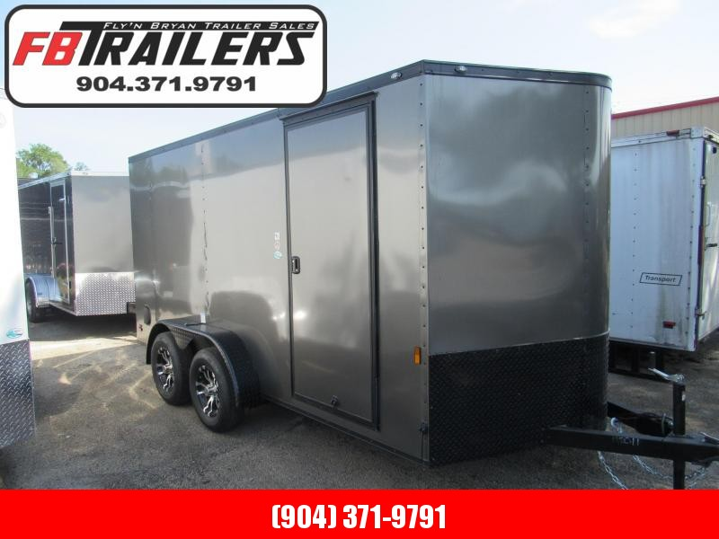 2021 Continental Cargo 7X14 Black Out Enclosed Cargo Trailer