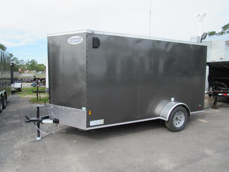 2020 Continental Cargo 6X12 Enclosed Cargo Trailer