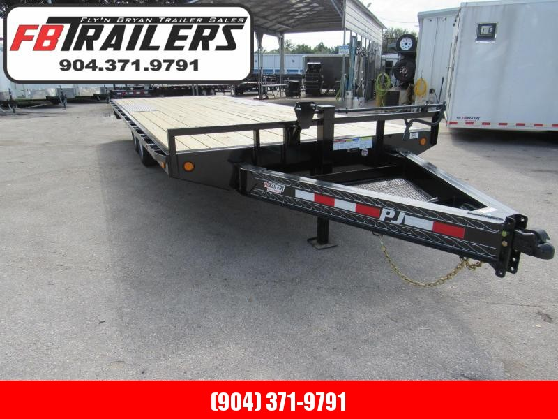 2020 PJ Trailers 22 ft Deckover Equipment Trailer