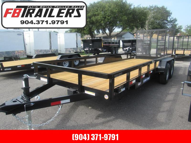 2020 Sure-Trac 20ft HD Contractors Grade Utility Trailer