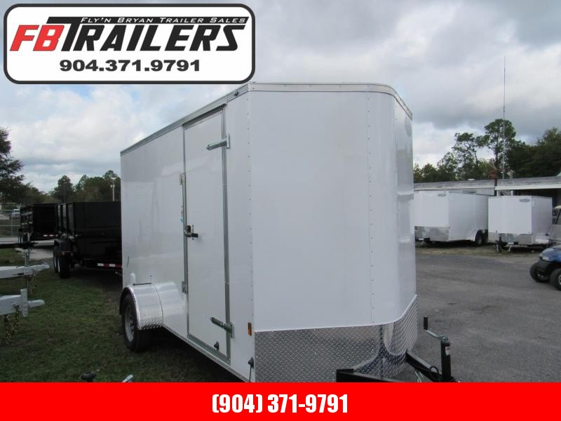 2020 Continental Cargo 6X12 W/6 inches Additional Height Enclosed Cargo Trailer