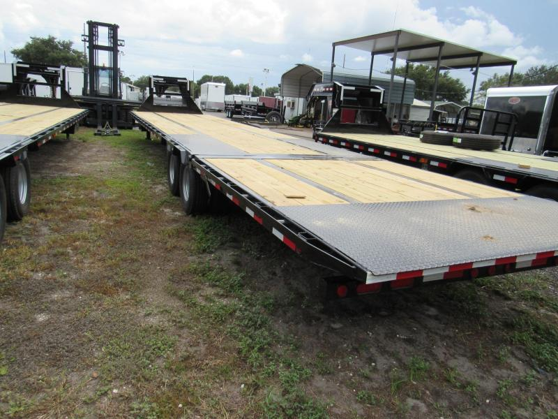 2019 PJ Trailers 40 ft HOT SHOT Gooseneck Equipment Trailer
