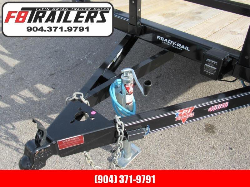 2020 PJ Trailers UL16 7X16 Utility Trailer