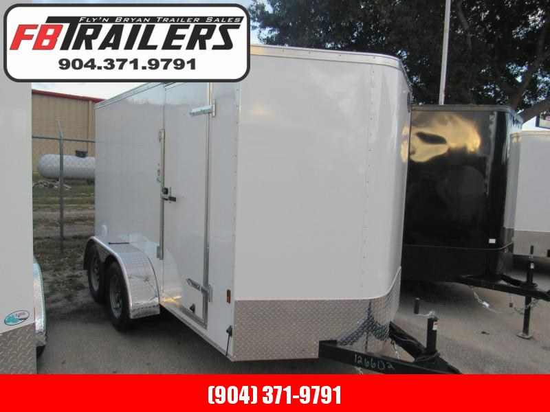 2020 Continental Cargo 6X12 Tandem Axle Enclosed Cargo Trailer