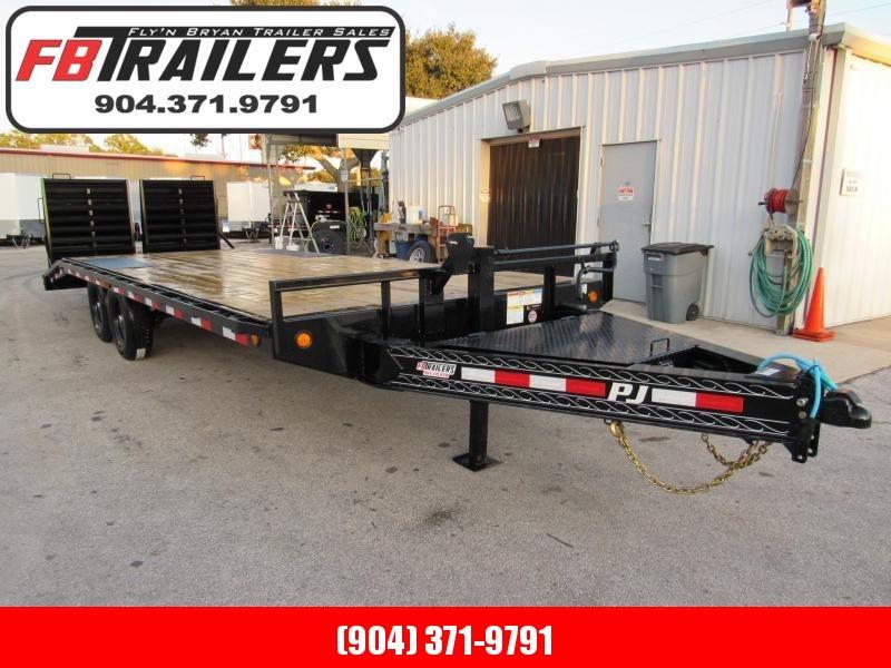 2020 PJ Trailers 22ft Deckover Equipment Trailer