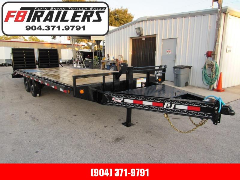 2020 PJ Trailers 22ft Deckover Equipment Trailer
