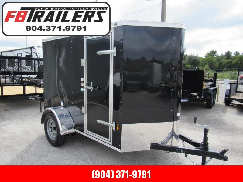 2020 Continental Cargo 5X8 Ramp door Enclosed Cargo Trailer