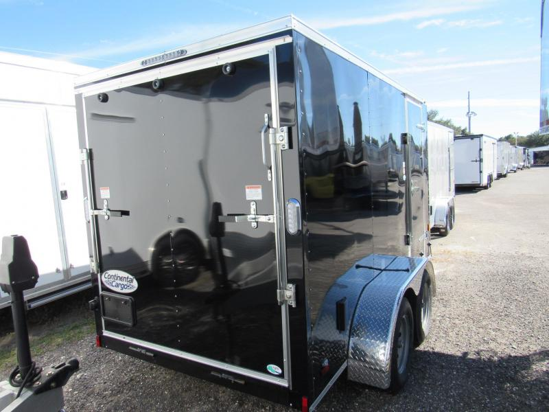 2020 Continental Cargo 6X12 Tandem Enclosed Cargo Trailer