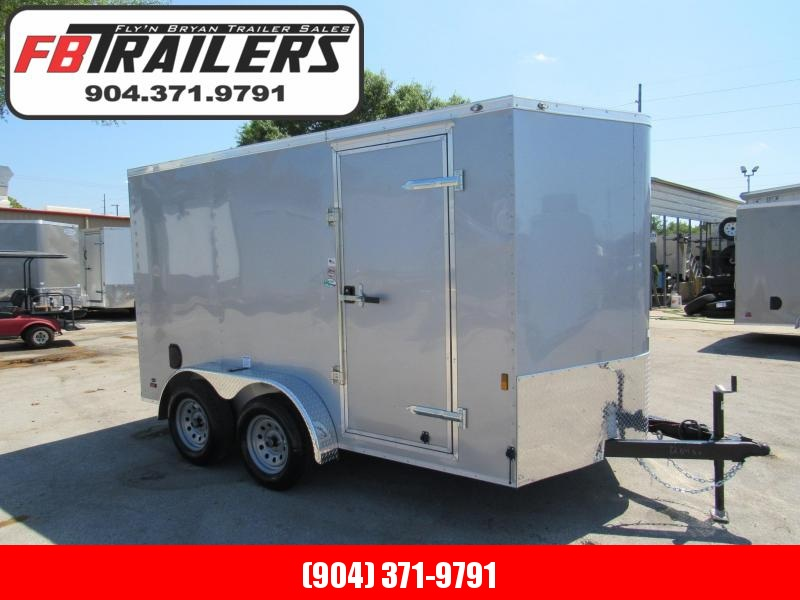 2020 Continental Cargo 7X12 Tandem Enclosed Cargo Trailer
