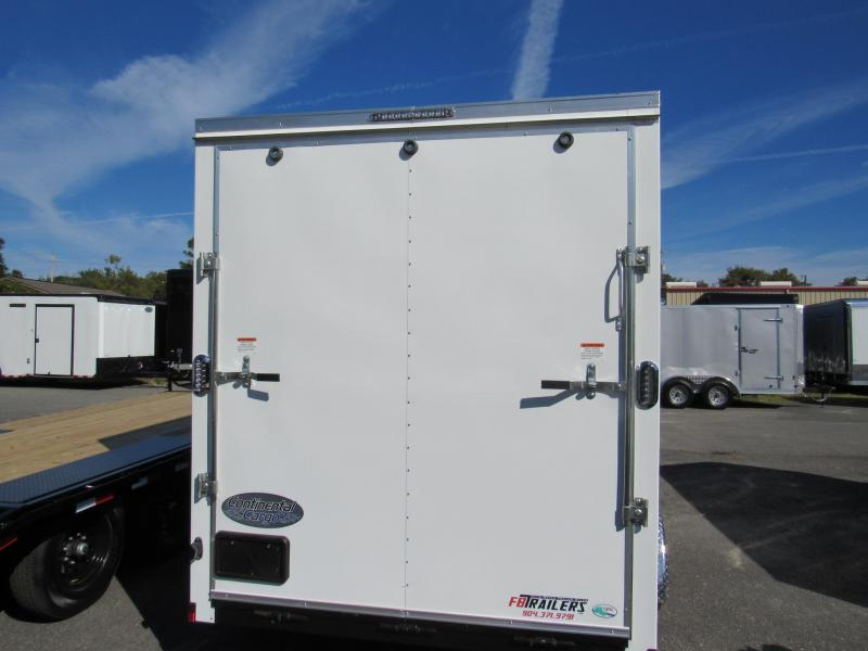 2020 Continental Cargo 7x14 W/12 Inches Added Height Enclosed Cargo Trailer