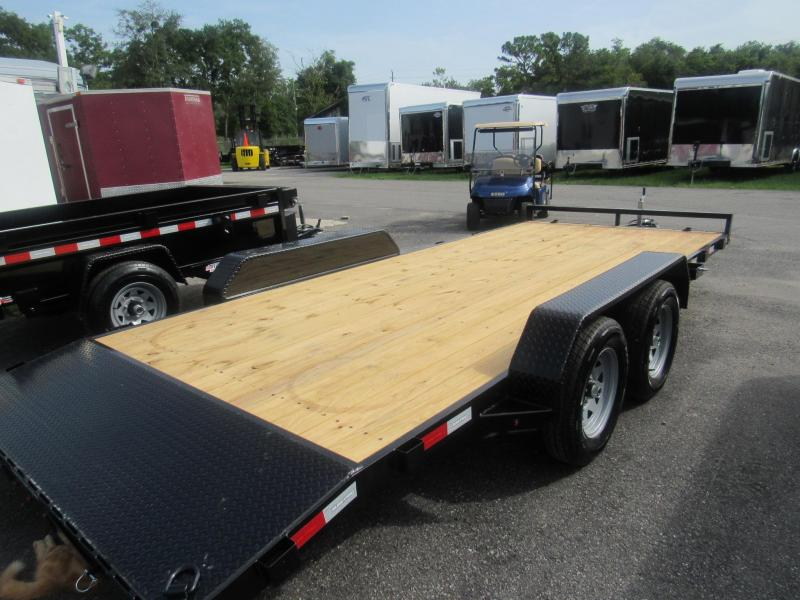 2020 Sure-Trac 18' Open Car Hauler Car / Racing Trailer