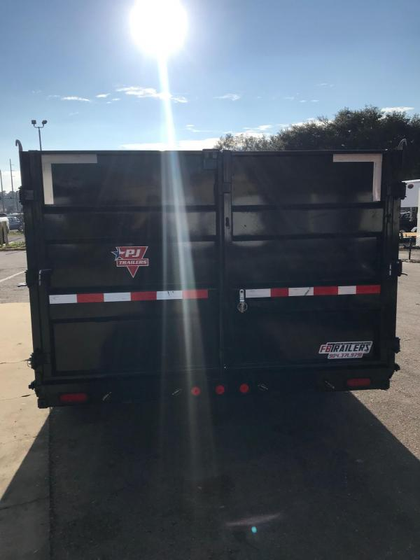 2020 PJ Trailers 16ft High Side Dump Trailer