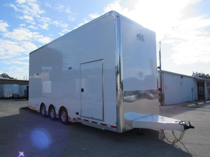2020 ATC 26ft All aluminum Stacker Car / Racing Trailer