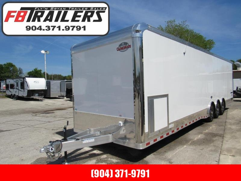 2020 Cargo Mate 34ft Aluminum Frame Enclosed Cargo Trailer