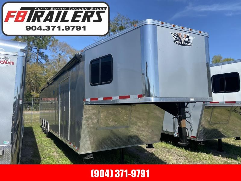 2020 Vintage Trailers 44ft Goosneck Bath Package Car / Racing Trailer