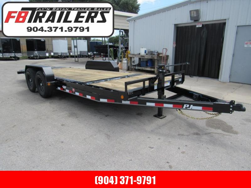 2020 PJ Trailers T6 Tilt Equipment Trailer