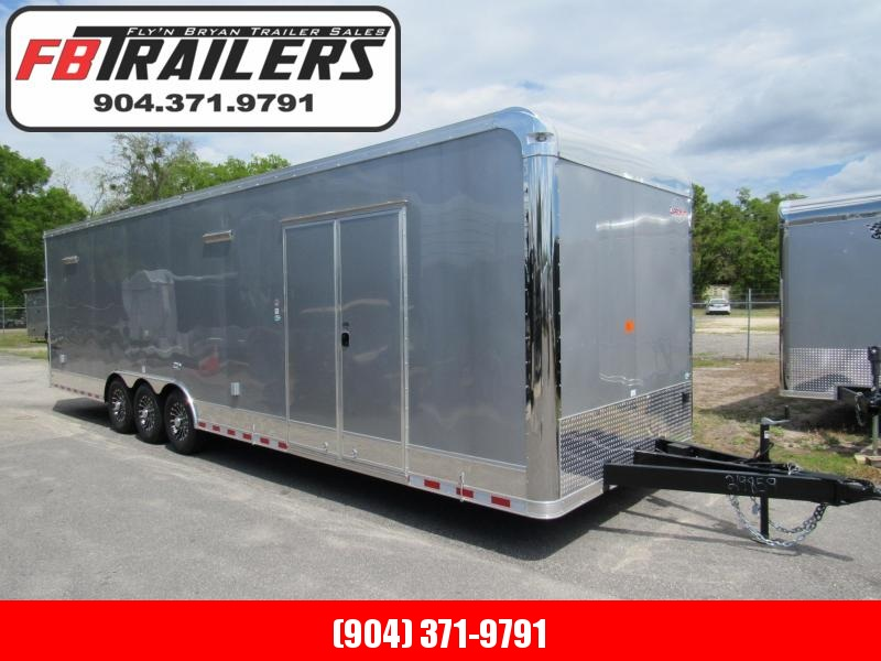 2021 Cargo Mate 32ft Eliminator Series Car / Racing Trailer