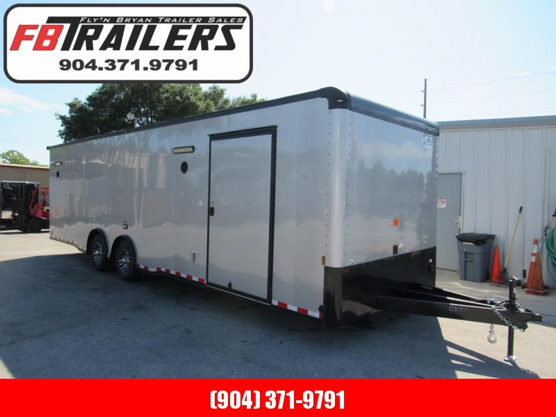 2021 Continental Cargo 30 ft Black Out Car / Racing Trailer