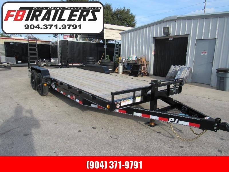 2020 PJ Trailers 22Ft CC Equipment Trailer