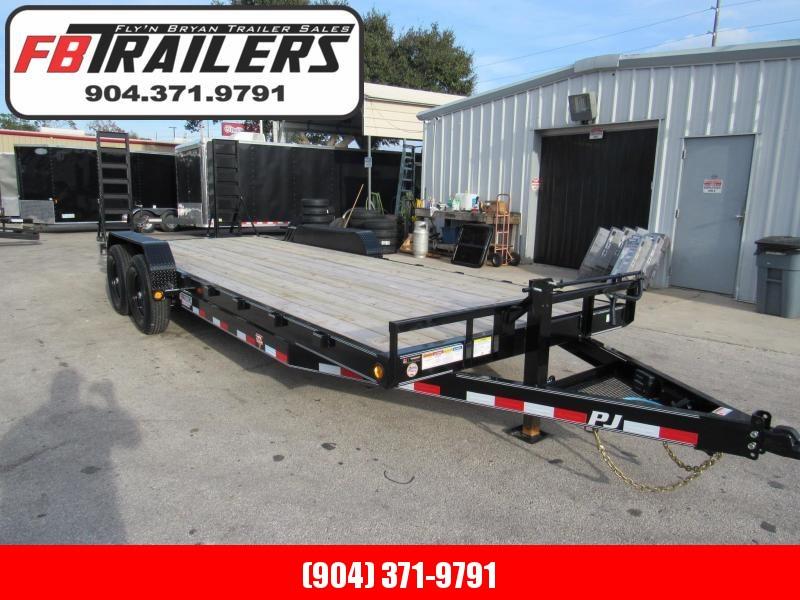 2020 PJ Trailers 22Ft CC Equipment Trailer
