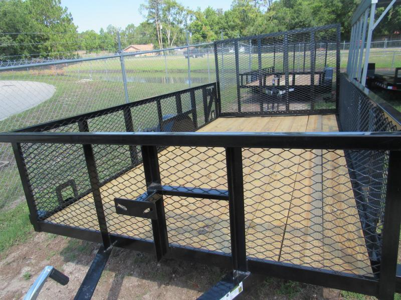 2020 Anderson Manufacturing 6x12 2ft Mesh sides Utility Trailer