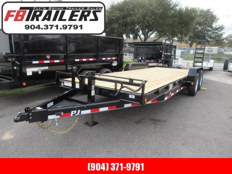 2020 PJ Trailers CC 22ft Equipment Trailer