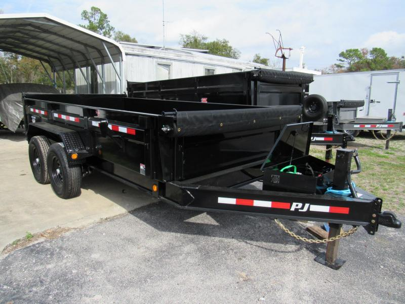 2020 PJ Trailers 14ft Dump Trailer