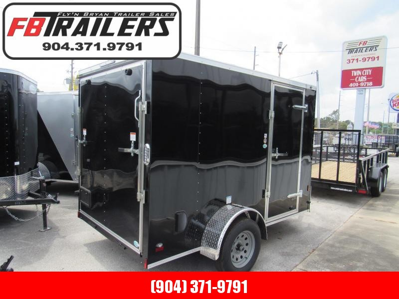 2020 Continental Cargo 6X10 Ramp Door/Side Door Enclosed Cargo Trailer