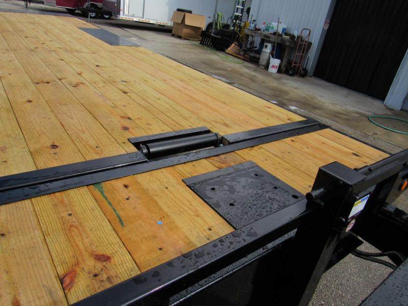 2020 PJ Trailers 24ft Deckover Tilt Equipment Trailer
