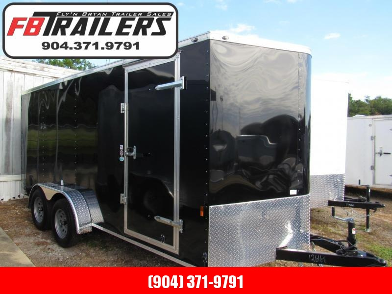 2021 Continental Cargo 7X16 Ramp Door Enclosed Cargo Trailer