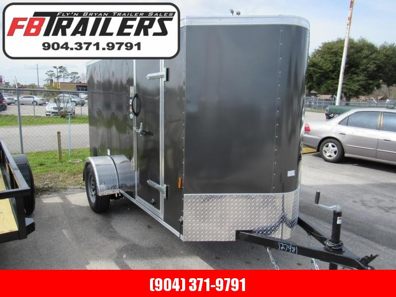 2020 Continental Cargo 5X10 Ramp Door Enclosed Cargo Trailer