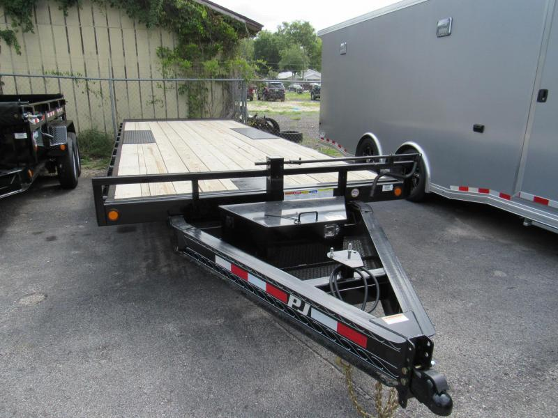 2020 PJ Trailers 22ft Deck over Tilt Equipment Trailer