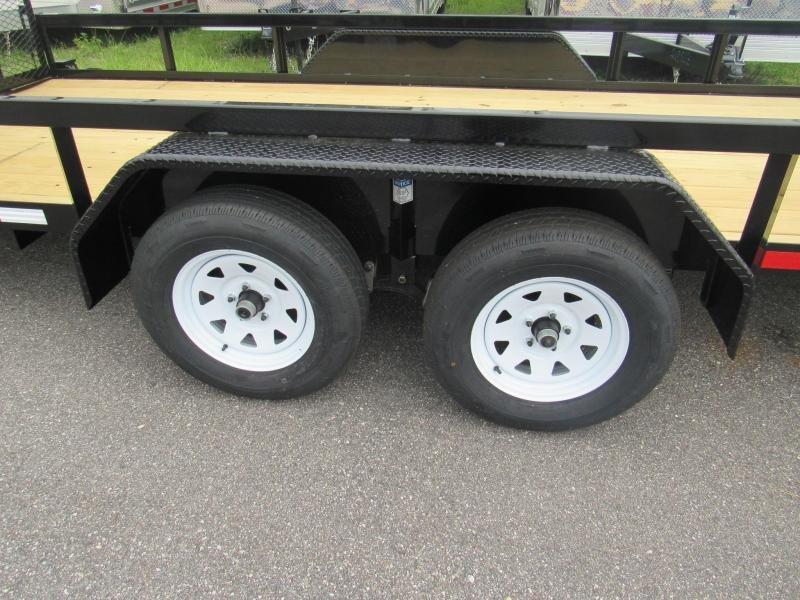 2020 Anderson Manufacturing 7X20 Utility Trailer