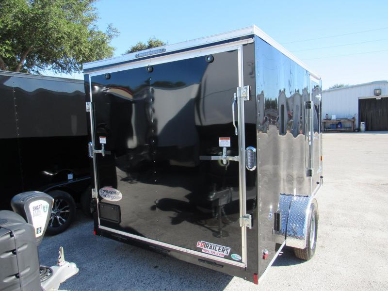 2020 Continental Cargo 7x12 Single Axles Enclosed Cargo Trailer