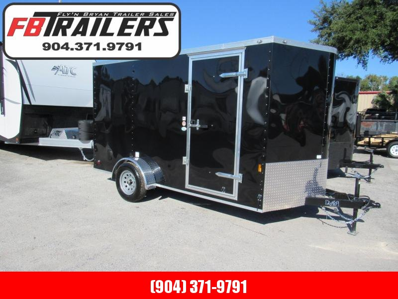 2020 Continental Cargo 7x12 Single Axles Enclosed Cargo Trailer