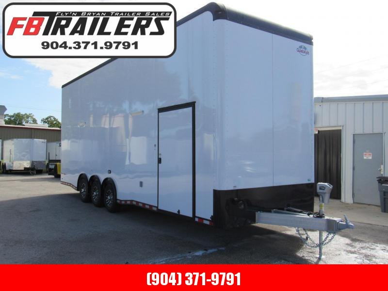 2020 Cargo Mate 30 Aluminum Frame Black Out Edition Stacker Car / Racing Trailer