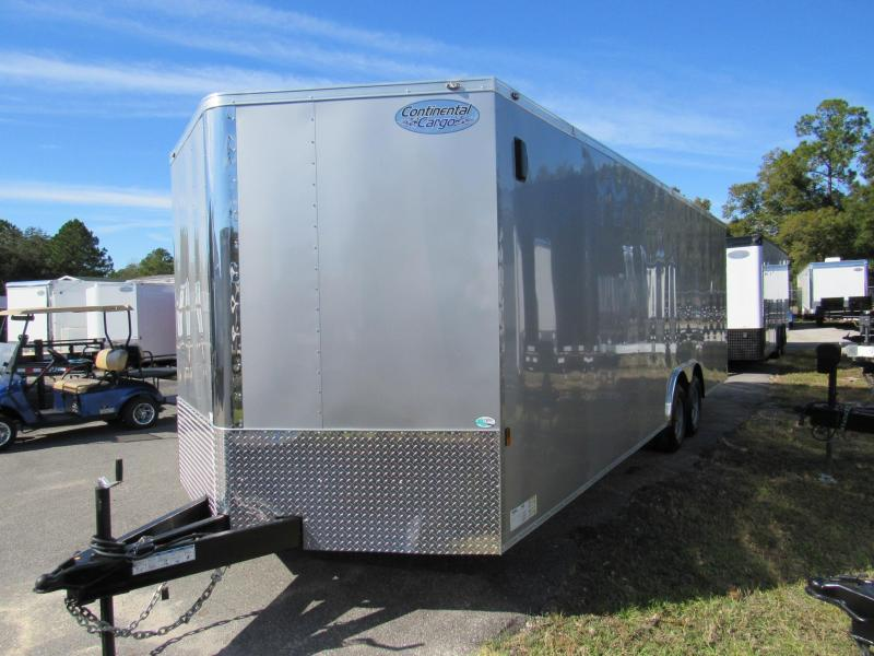 2021 Continental Cargo 24ft Car / Racing Trailer