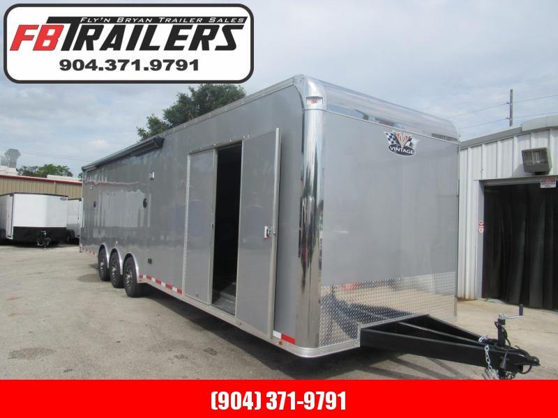 2020 Vintage Trailers 34ft Bath Package Car / Racing Trailer